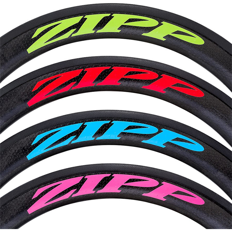 ZIP 202 303 404 808 909 30 60 Road Bike Wheel Stickers Set Water Proof for Carbon Wheel Cycling Bicycle Decal Custom Size Design