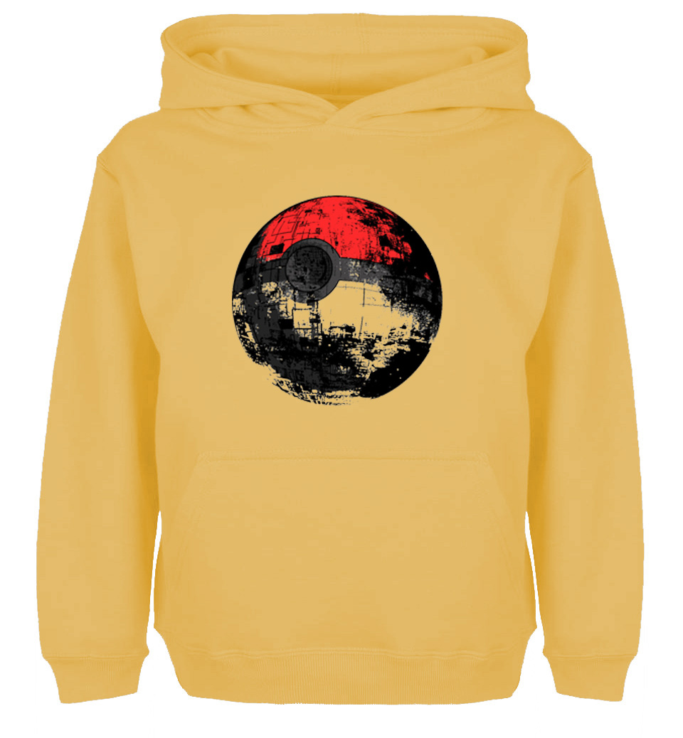 Lovely Fashion Style Death Star Pokeball Star Wars Design Hoodie Mens Womens Winter Cotton Printing Sweatshirt Tops Be Novel In Design Women's Clothing