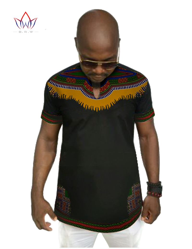 African print dashiki for men 6xl print shirt men short for Patterned dress shirts for men