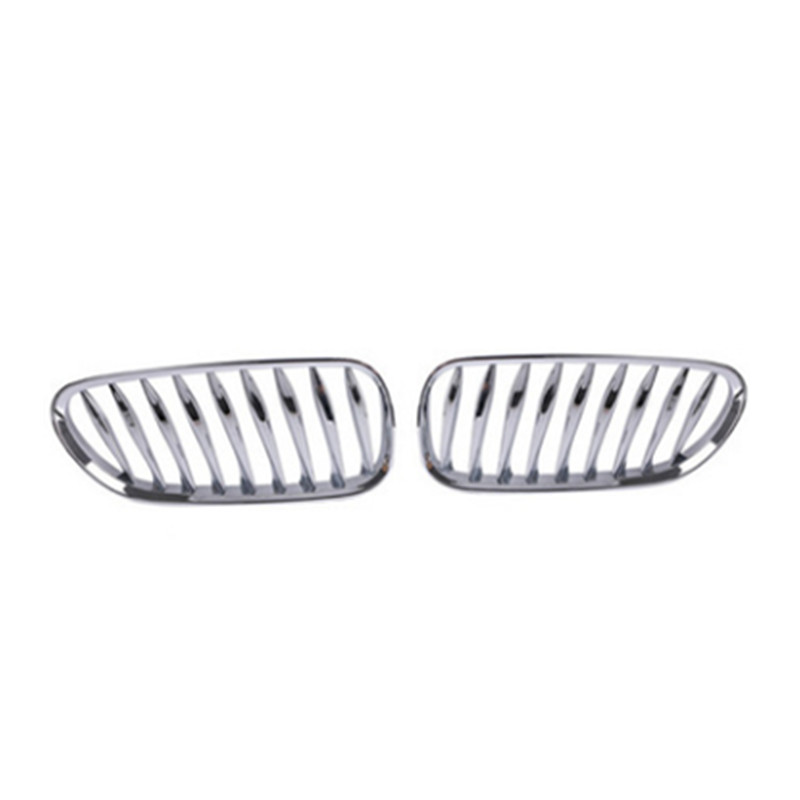 1pair ABS plating Front Kidney Grille Grill For BMW E85