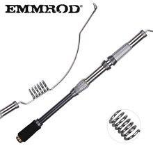 EMMROD Mini Portable Pocket 72CM stainless steel Sea Fishing Rod ultra short Ice Raft Free Shipping
