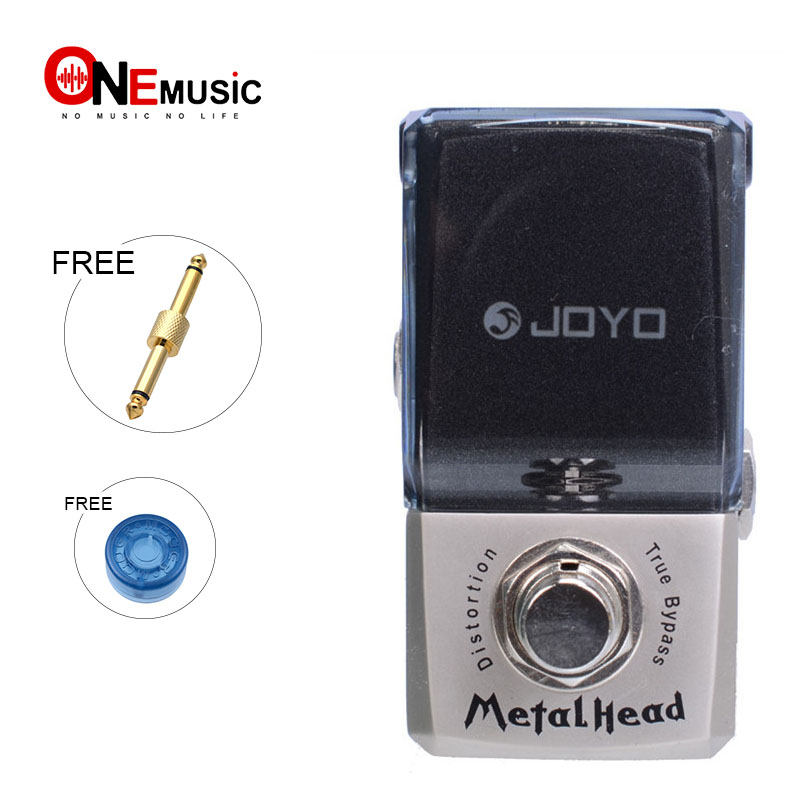 Joyo JF 315 Metal Head Distortion Effect guitar Pedal Ironman Mini Series Guitar Pedal with pedal