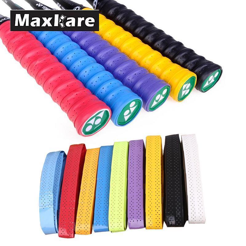 Maxkare Anti-slip Breathable Sport Over Grip Sweatband Tennis Tape Badminton Racket Grips Sweatband