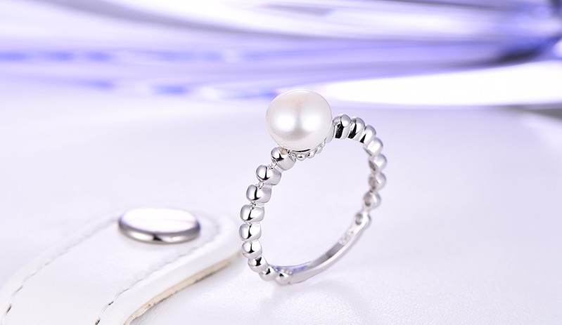 for 925 sterling silver wedding ring,for 925 sterling silver ring women pearl rings,925-sterling-silver,sterling-silver-jewelry,pearl jewelry  NR77020A (8)