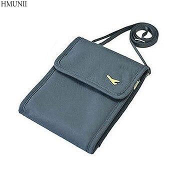 e34830930fefd Moda Kadın Haberci Pasaport Kapağı Seyahat Cüzdan Erkekler Seyahat eğlence  Eğimli omuz çantası cüzdan güvenlik anti-hırsızlık paketi