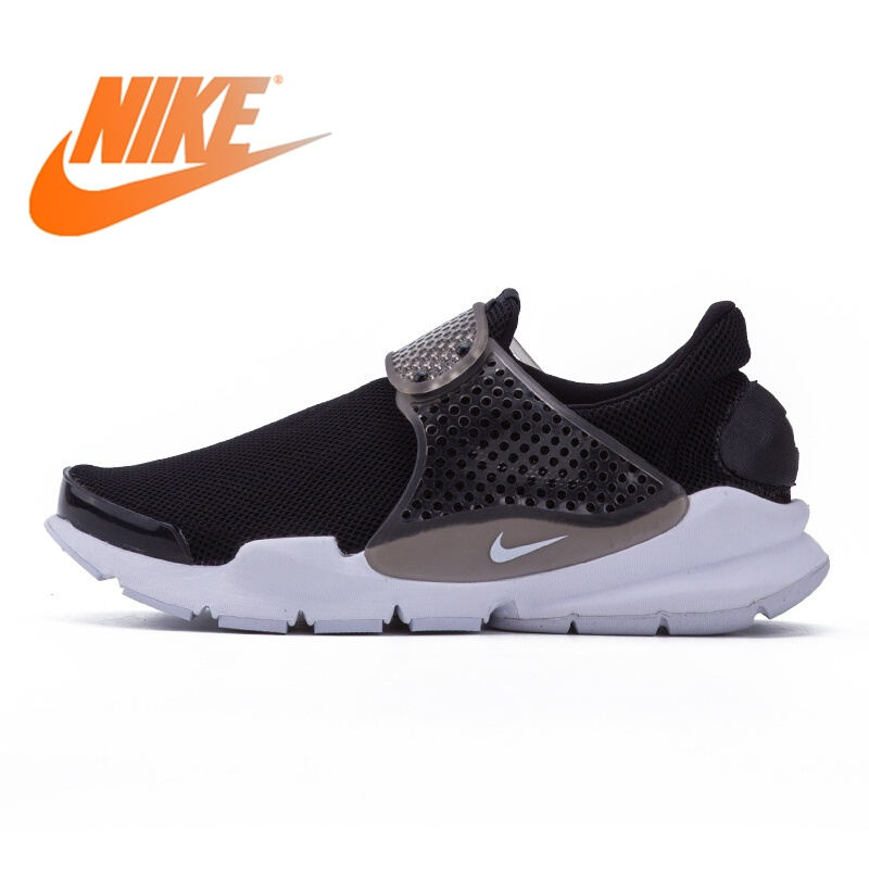 huge inventory f0f9c 1ed96 Original NIKE WNS SOCK DART BR Running Shoes Mesh Breathable Sneakers for Women  New Cushioning Comfortable Walking Shoes 896446