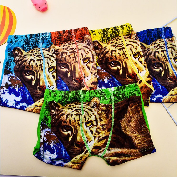 5Pcs/lot Boys Panties Baby Boy Boxer Briefs Super Value Underpants Children Underwear Kids Panty Briefs Infant Teenagers 2-10Y