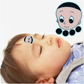 1Pcs Baby Forehead Sticker Temperature Thermometers Digital Plastic Strip Body Fever Medical No Mercury  Children's Thermometer