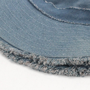 Denim Bucket Hat  5
