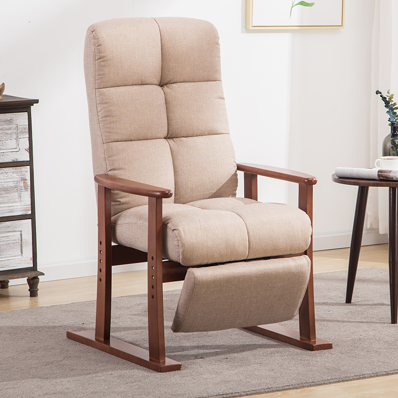 Superb Modern Living Room Chair And Ottoman Fabric Upholstery Furniture Bedroom Lounge Reclining Armchair With Footstool Accent Chair Inzonedesignstudio Interior Chair Design Inzonedesignstudiocom