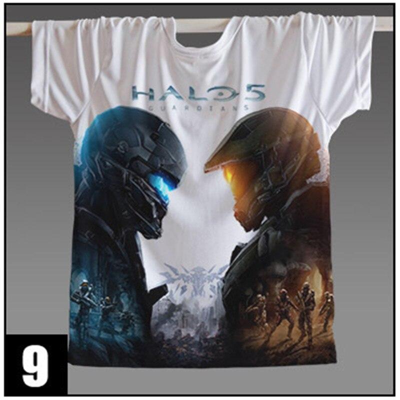 Game Halo UNSC T Shirt Halo Master Chief 3D Printed Men Women t-shirt anime Wars Game t shirts Wholesale Custom Tshirt