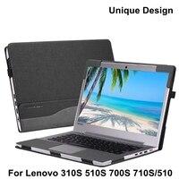 PU Leather Case For Lenovo Ideapad 700s 710s 310s Flex4 14 Yoga 510 510 14 Tablet