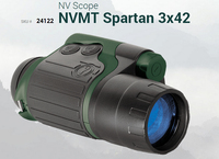 Free Shipping Yukon 24122 NVMT Spartan 3x24 Night Vision Monocular NVMT Spartan 3x24