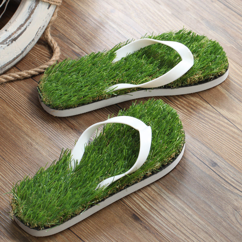 09211f604d22 Man Massage Shoes Lawn Flip Flops For Boys and Girls Personalized Grass  Slipper Shoes For Children And Adults Women Sandals-in Sandals from Mother    Kids on ...