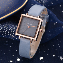 2019 Newly Arrival Minimalistic Watch Female Fashion Women Wrist Leather Luxury Quartz stainless steel