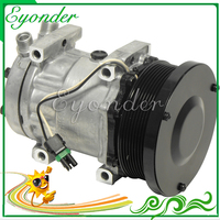A/C AC Air Conditioning Compressor Cooling Pump SD7H15 7H15 for Caterpillar Series FLX 40405378 4698 AG522391 RE68372 SD4698