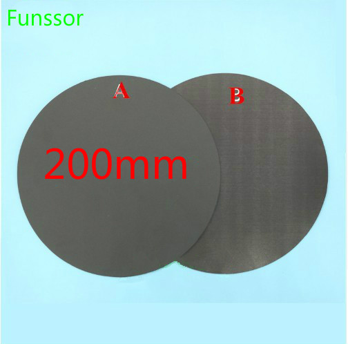 Tireless 200mm Round Magnetic Adhesive Print Bed Tape Print Sticker Build Plate Tape Flexplate For Diy Kossel/delta Mk2y 3d Printer Parts 2019 New Fashion Style Online Office Electronics