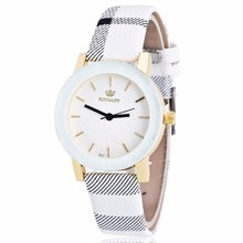 Contracted leisure RINNADY men and women`s watch luxury brand quartz colock watch leather women`s wrist watches reloj mujer