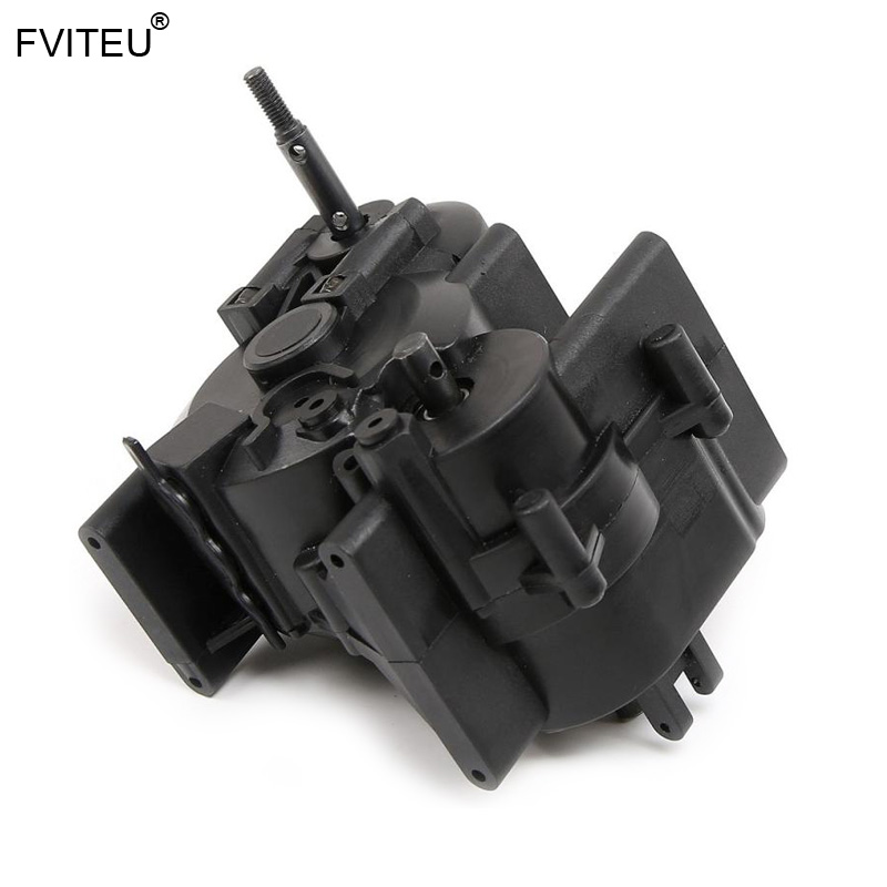 FVITEU Middle Differential Gear box Assembly Set fit 1 8 HPI Racing savage XL FLUX Rovan