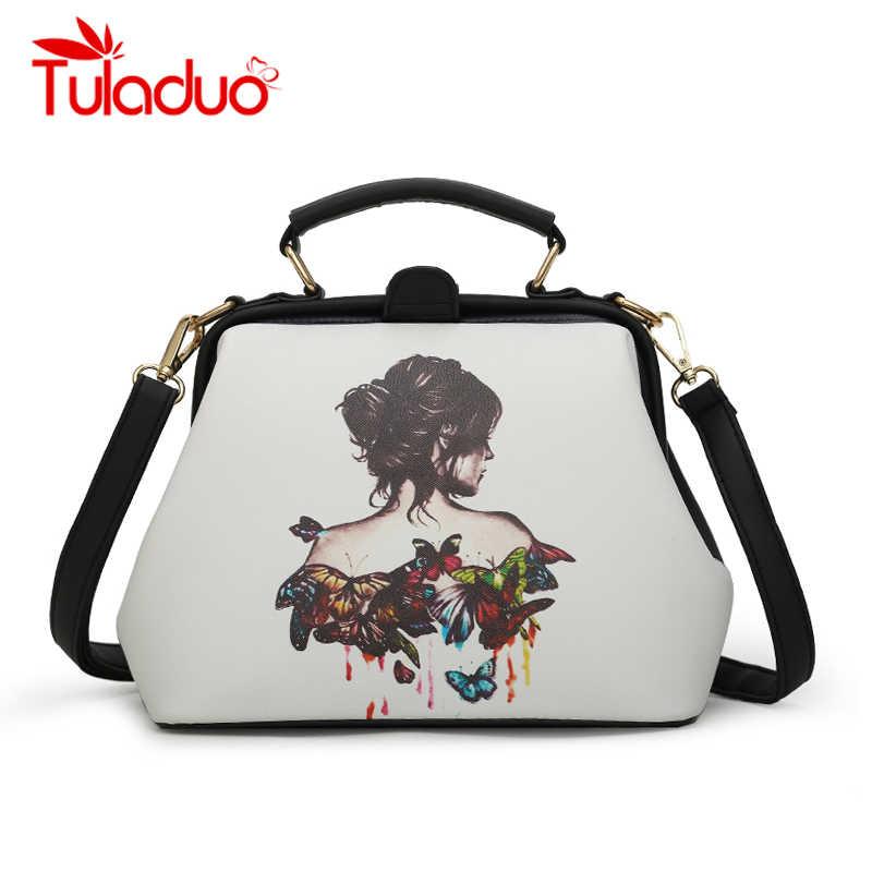 20ea065a09f7 2018 новые летние женские сумки дизайнерские Мультяшные персонажи доктор  сумки роскошные кожаные сумки через плечо повседневные