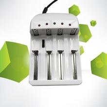 Батарея Зарядное устройство для 18650 26650 14500 10440 AA AAA Универсальный i4 Интеллектуальный Li-ion/NiMH 18650/26650/AA/AAA Батарея Зарядное устройство 4 из
