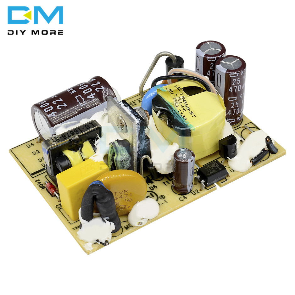 AC-DC <font><b>12V</b></font> 2A Switching Power Supply Module DC Voltage Regulator Switch <font><b>Circuit</b></font> Bare <font><b>Board</b></font> Monitor <font><b>LED</b></font> Lights 110V 220V SMPS image