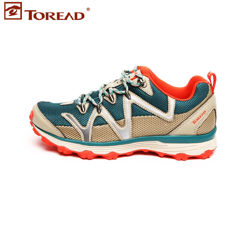 ФОТО Toread Hiking Shoes Walking Women's Sport Shoes KFFD92417 series Breathable Popular Tactical boots New Arrival