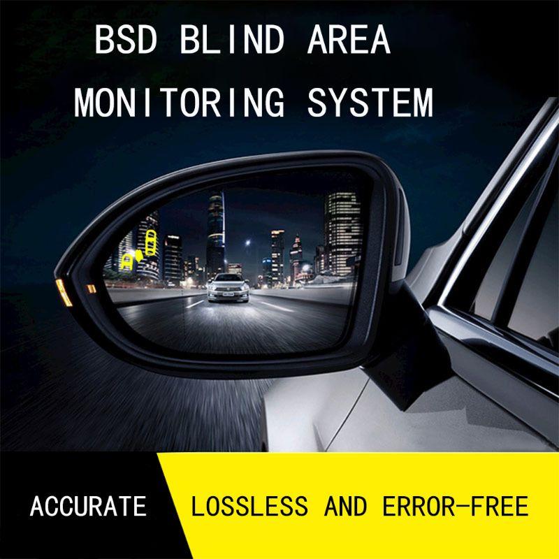 Car Blind Spot Monitoring BSD BSA BSM Radar Detection System Microwave Sensor Assistant Car Driving Security