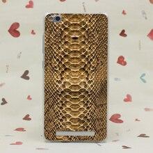 2168CA Luxury Just Cavallis Snake Print Hard Transparent Case for Redmi 2 2A 3s Pro Note 2 3 Pro Meizu M2 Mini M3 Note