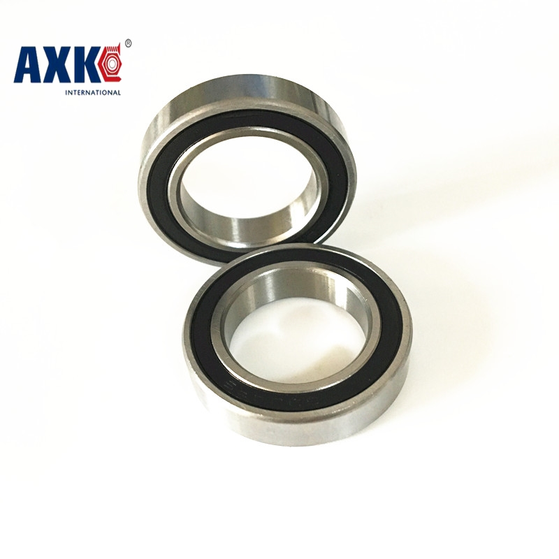FREE SHIPPING! 2pcs/lot sealed 6004RS steel ball bearing 20x42x12 mm 6004-2RS bearing 6004 stainless steel ball bearing free shipping 10 pcs smr85zz abec3 5x8x2 5mm high quality stainless steel bearing 2pcs lot ball bearing 5x8x2 5