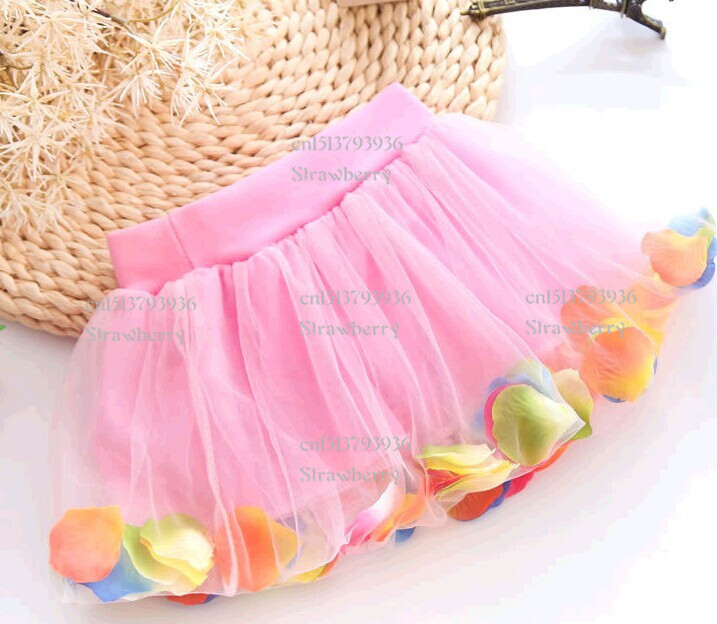 2016-New-Fashion-Cute-Pretty-Baby-girl-Princess-Bust-skirt-Flower-Colorful-Lace-Summer-kids-clothes-children-clothing-4