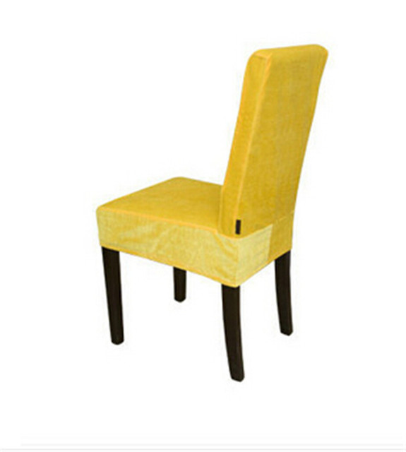 Yellow Chair Covers Green Wing Back 100pcs Surefit Soft Suede Short Dining Cover China