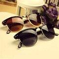 Солнцезащитные очки Женщины Марка Дизайнер Мужчины Солнцезащитные Очки 8 Цвета Óculos De Sol женщина для 2016 Горячей Моды Очки Старинные Ретро Мужская
