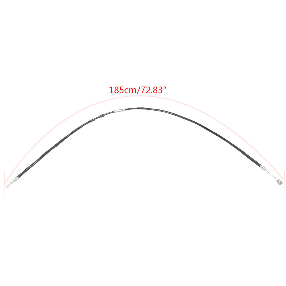 """57.1""""/ 65"""" /72.83"""" Clutch Cable Wire for Harley Davidson Sportster XL883 XL1200 Motorcycle Spare Parts Black 185cm 165cm 145cm"""