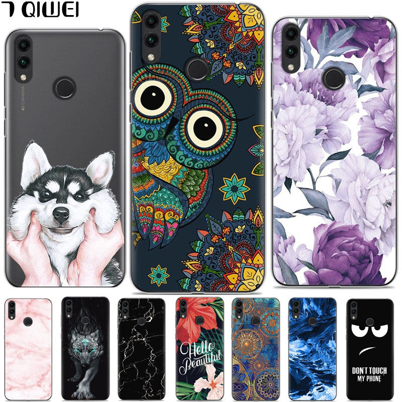 Lovely Honor 8c Novelty Rose Painted Phone Case For Huawei Honor 8c Silicone Cover Bags For Coque Huawei Honor 8c Bkk-l21 8 C Honor8c Cellphones & Telecommunications Fitted Cases