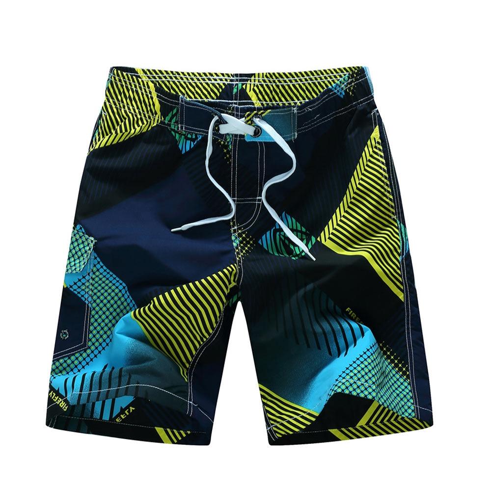 Men's Clothing Mans Sport Short Pants Prints Flower Running Gym Swim Shorts Plus Size Swimwear Men Surf Boardshorts Summer Swimsuit Rapid Heat Dissipation