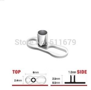 Image 2 - G23 Sınıf Titanyum Mikro Dermal Çapa Tabanı Cilt Divertwo Delik Piercing Takı
