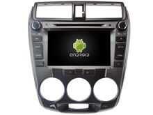 Android 8.0 octa core 4GB RAM car dvd player for HONDA CITY 2008-2012 ips touch screen head units tape recorder radio with gps