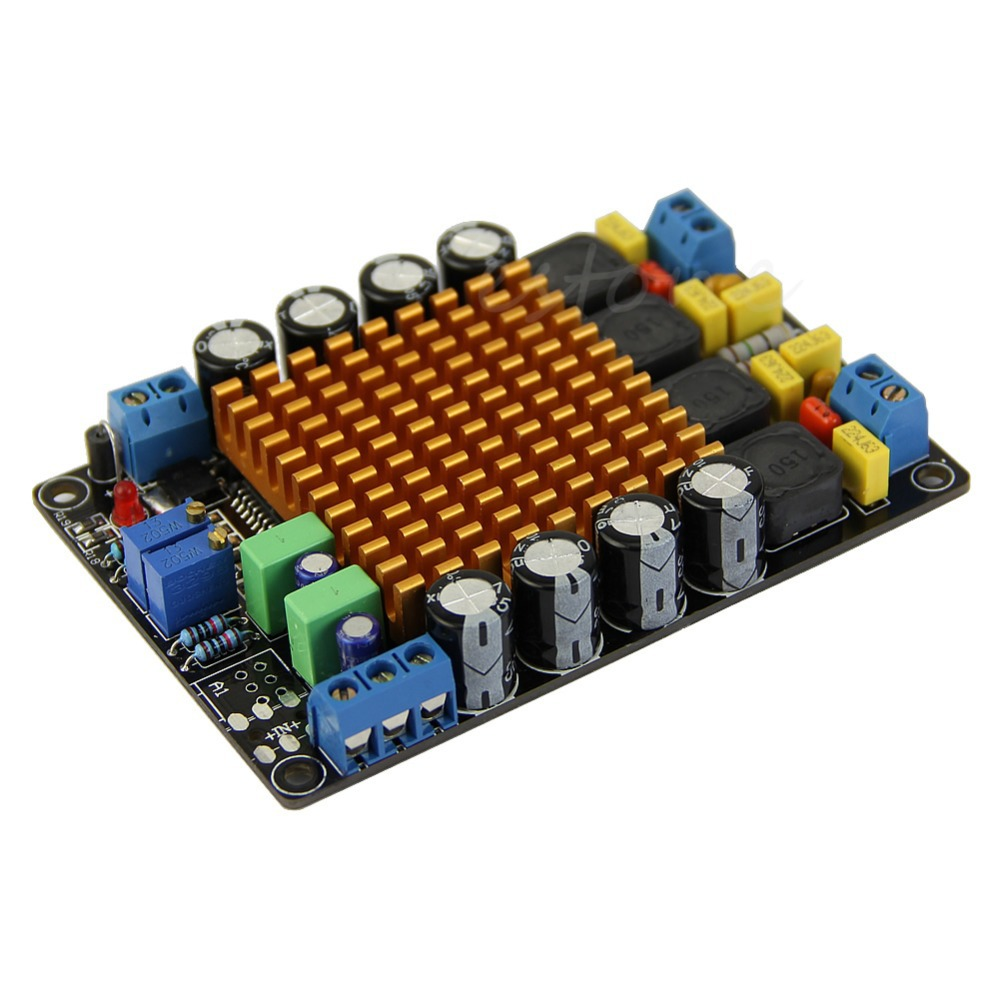 JINSHENGDA TK2050 Dual Channel Class T HIFI Stereo Audio Digital Amplifier Board 50W+50W