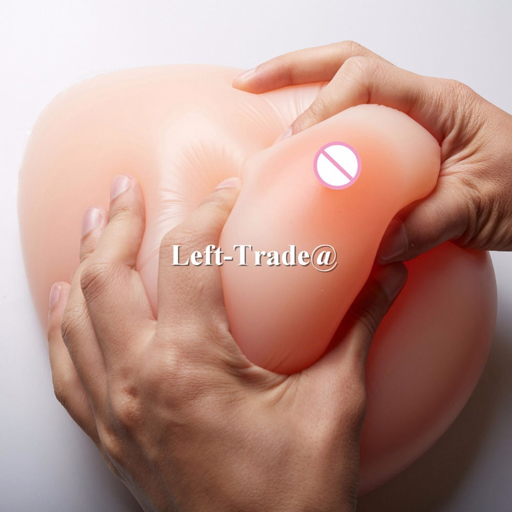 Buy 4600g Huge crossdresser False breast Artificial Breasts Silicone Breast Forms Fake boobs
