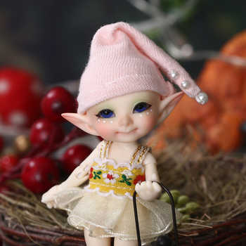 Realpuki Pupu FreeShipping Fairyland FL  BJD Doll 1/13 Pink Smile Elves Toys for Girl Tiny Resin Jointed Doll - DISCOUNT ITEM  28% OFF All Category