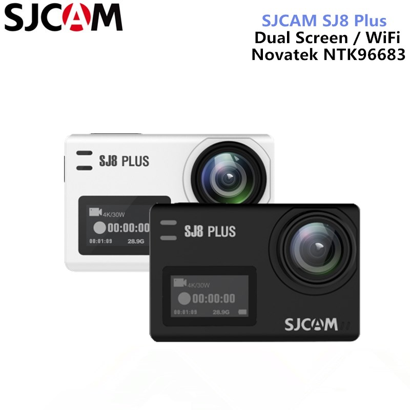 SJCAM SJ8 Plus Action Camera Native 4K 30fps Dual Screen WiFi Simplified Version Sports Camera DV Remote Control Helmet Camera