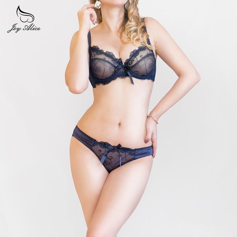 2019 NEW ABCD France brand  lace bra & brief sets push up bra set for women underwear set brassiere transparent lingerie