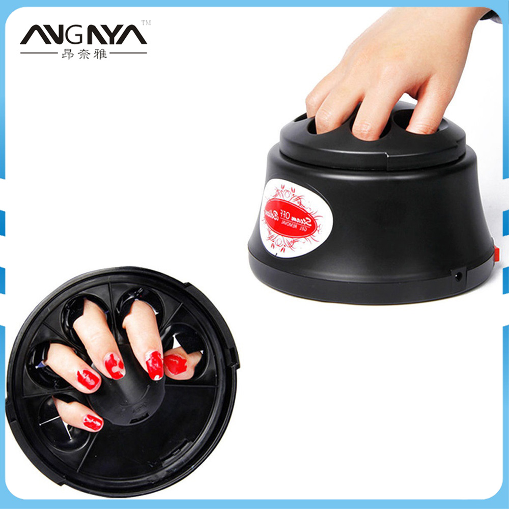 ANGNYA Machine à vapeur à ongles Machine à dissolvant de vernis à ongles Gel environnement sans blessure outil de beauté de l'art des ongles efficace propre 100-240 V