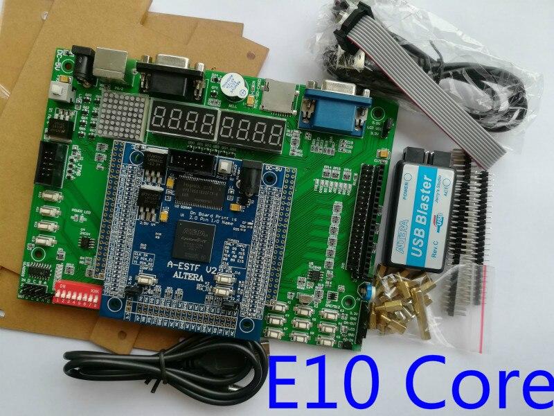 altera fpga development board NIOS II board EP4CE10F17C8N fpga board altera  board cyclone IV board