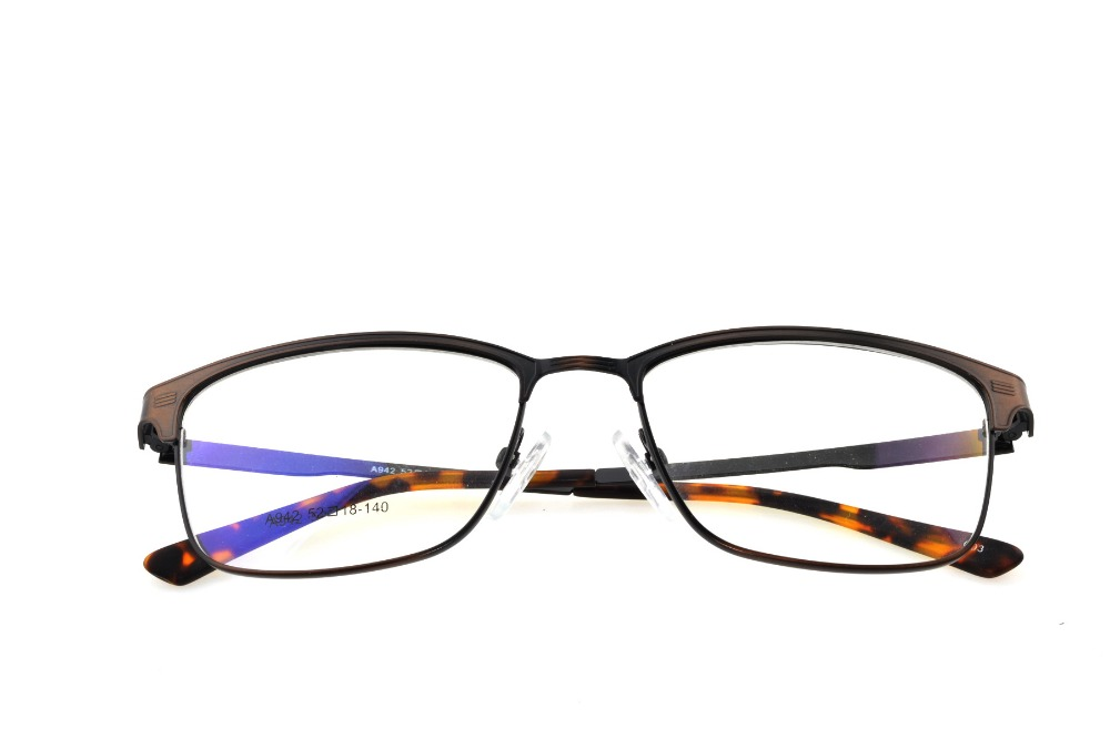 3033cc56681 Titanium Alloy Bronze Retro Eyeglasses Frame Optical Custom Made  Prescription Reading Glasses Progressive Photochromic +1 To +9-in Eyewear  Frames from ...