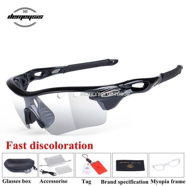 7da8980d6cb Sport Photochromic Polarized Glasses Cycling Eyewear Bicycle Glass MTB Bike  Bicycle Riding Fishing Cycling Sunglasses