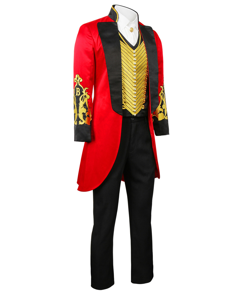 Image 3 - The Greatest Showman P.T. Barnum Cosplay Costume Outfit Adult Men Full Set Uniform Halloween Carnival Cosplay Outfit Custom Made-in Movie & TV costumes from Novelty & Special Use