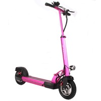 Foldable Electric Scooter 10 Inch Folding Bike Electric Skateboard Hoverboard E Scooter Kick Scooter For Adults