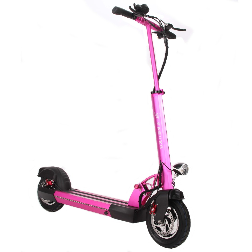 где купить Foldable Electric Scooter 10 Inch folding bike Electric Skateboard Hoverboard E-Scooter Kick Scooter for Adults по лучшей цене
